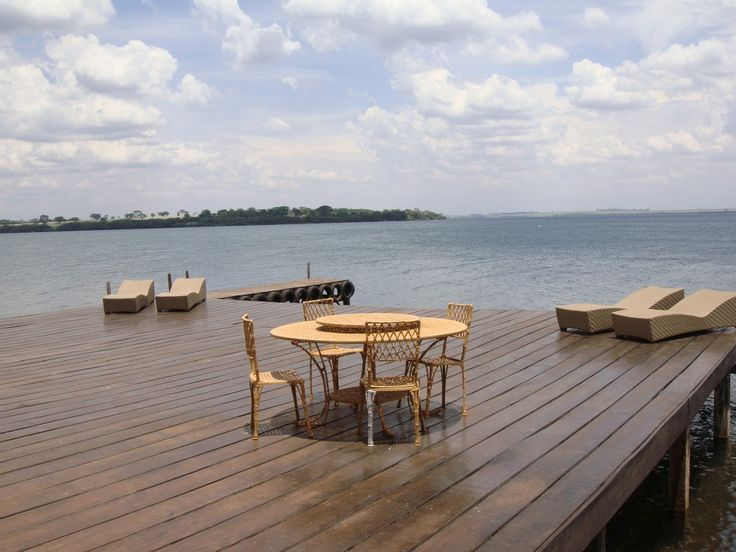 chácara / sítio Uberaba - Deck com bela vista