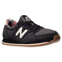 new balance 420 women's Black with Charcoal & White