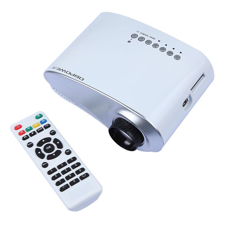 Mini LED Projector 1000:1 Hdmi 1080P HD Portable Pico proyectore Theater projetor TV VGA Games Video projecteur Beamer Projetor