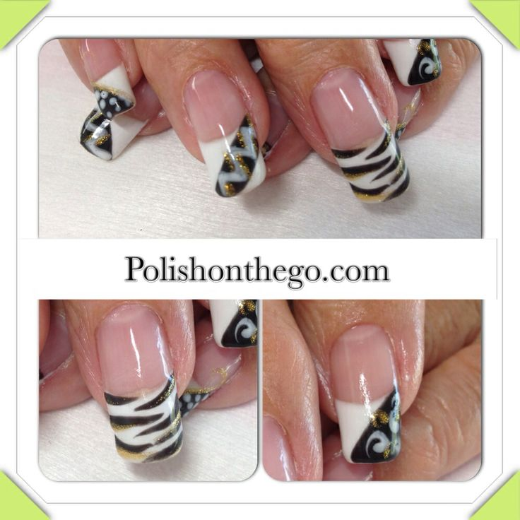 Wild French Tip Nail Designs: 203 Best Images About Hair N All Kinds Of Stuff On