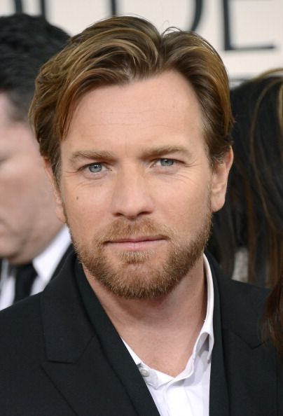 Ewan McGregor at the 2013 Golden Globe awards. Nominated for Leading Actor for Salmon Fishing in the Yemen