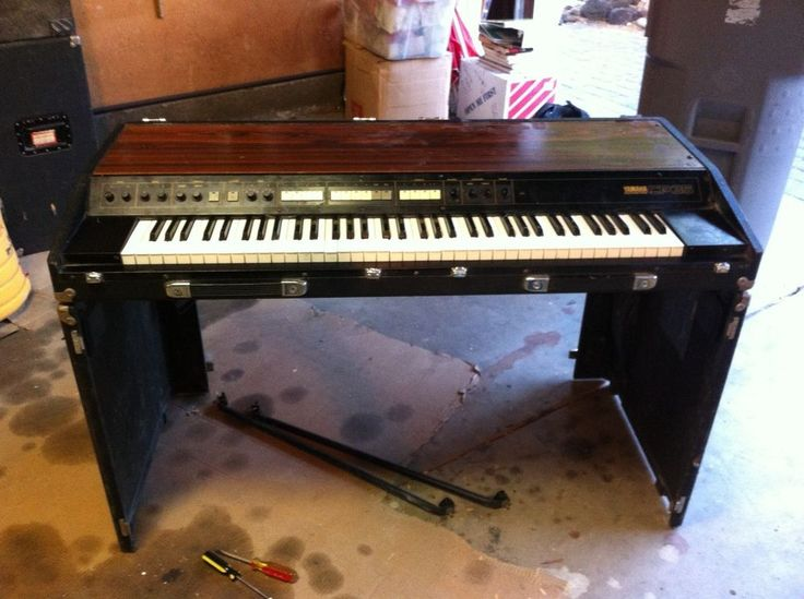 YAMAHA CP35 ELECTRIC PIANO VINTAGE CP-35 ANALOG KEYBOARD MUSIC PORTABLE CASE