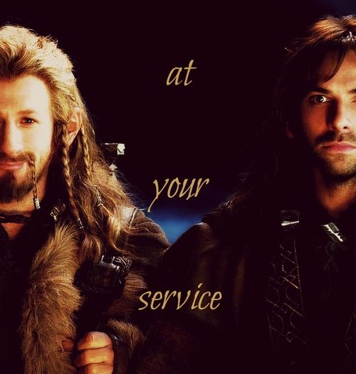 Fili and Kili. At your service!