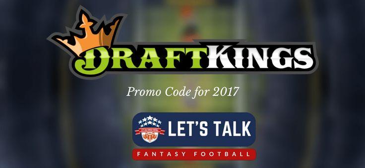 DraftKings Promo Code: August 2017 w/ Free Bonus https://www.letstalkfantasyfootball.com/draftkings-promo-code/?utm_content=buffer77843&utm_medium=social&utm_source=pinterest.com&utm_campaign=buffer