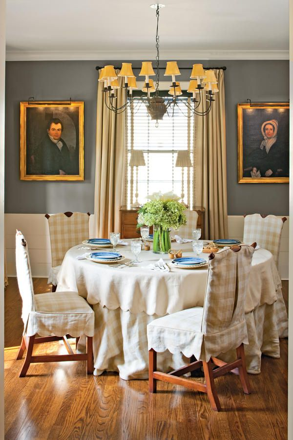 79 Stylish Dining Room Ideas: Soften The Space With Linens