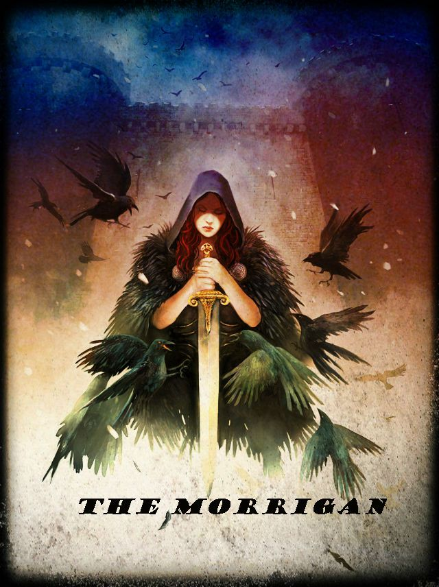Whether you call her Morgana, Morgan le Fay, or Fata Morgana... She is the Morrigan. There are people who both fear her and admire her, and it is only right and proper that they do so, because this amazingly powerful Goddess is The Morrigan, the Celtic Goddess of War.