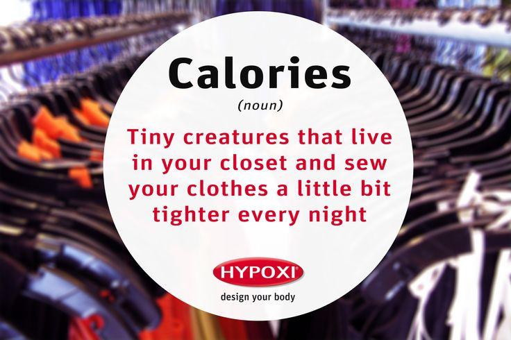 Those darn calories!