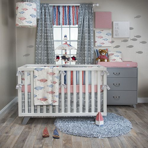 Found it at Wayfair - Fishtales 3 Piece Crib Bedding Set