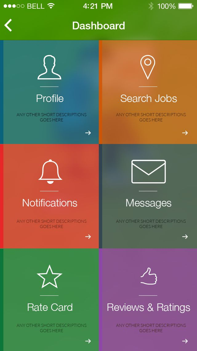 45 Best Images About Ios Android Application Designs On