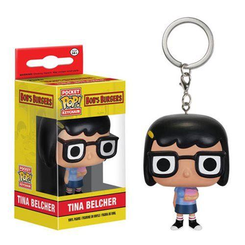 Bob's Burgers Pocket Pop! Keychain Tina