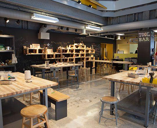 Tinkering Lab Chicago Scenic Studios Inc Chicago Children 39 S Museum Exhibits Pinterest