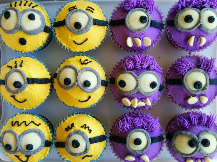 25 Best Ideas About Minion Cupcakes On Pinterest Minion