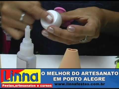 PASSO A PASSO - JOANINHA EM E.V.A COM A ARTESÃ KRIKA muñeca fofuchas