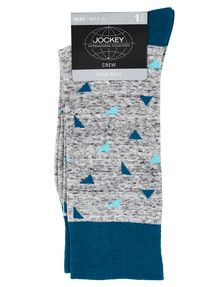 Jockey Gold Top Cotton Blend Dress Sock product photo