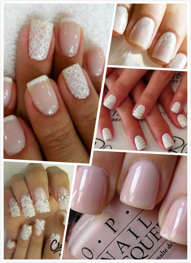 1167 wedding day nails