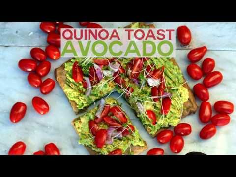 Avocado on Quinoa Bread Toast (Gluten free) - Nest and Glow