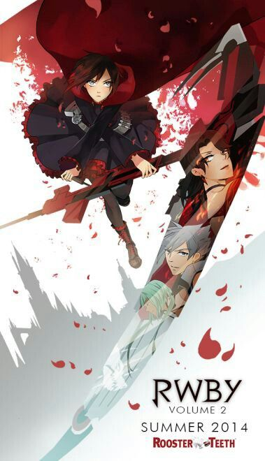 RWBY VOLUME 2 PROMOTIONAL POSTER!!!! I CANT WAIT!!!
