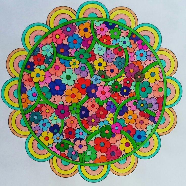 Week 67, flower designs vol. 1 by Jenean Morrison coloured by Artemis Anapnioti.