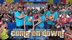 I love the Price is Right!    Awesome post: How My Foolproof Scientific System Got Us Onto The Price Is Right