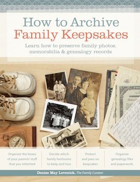 Step by Step Guide to preserving family history photos, documents and memorabilia.