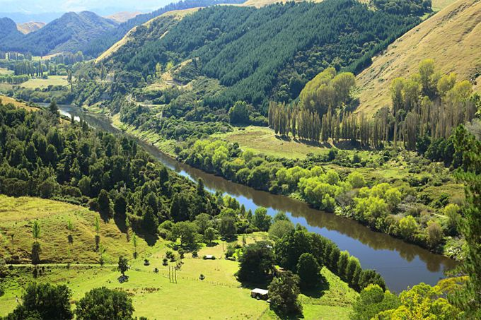 New Zealand -- The Whanganui River, North Island