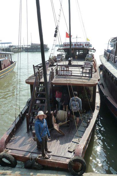Ha Long Bay, barco. Fotografia Tatiana Sato