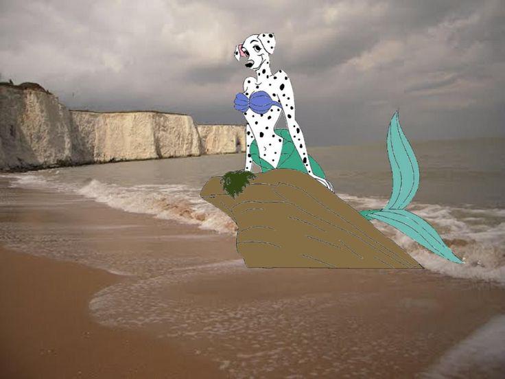 Perdita as mermaid by Cebuq