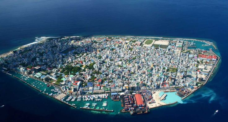 Malé the capital of Maldives