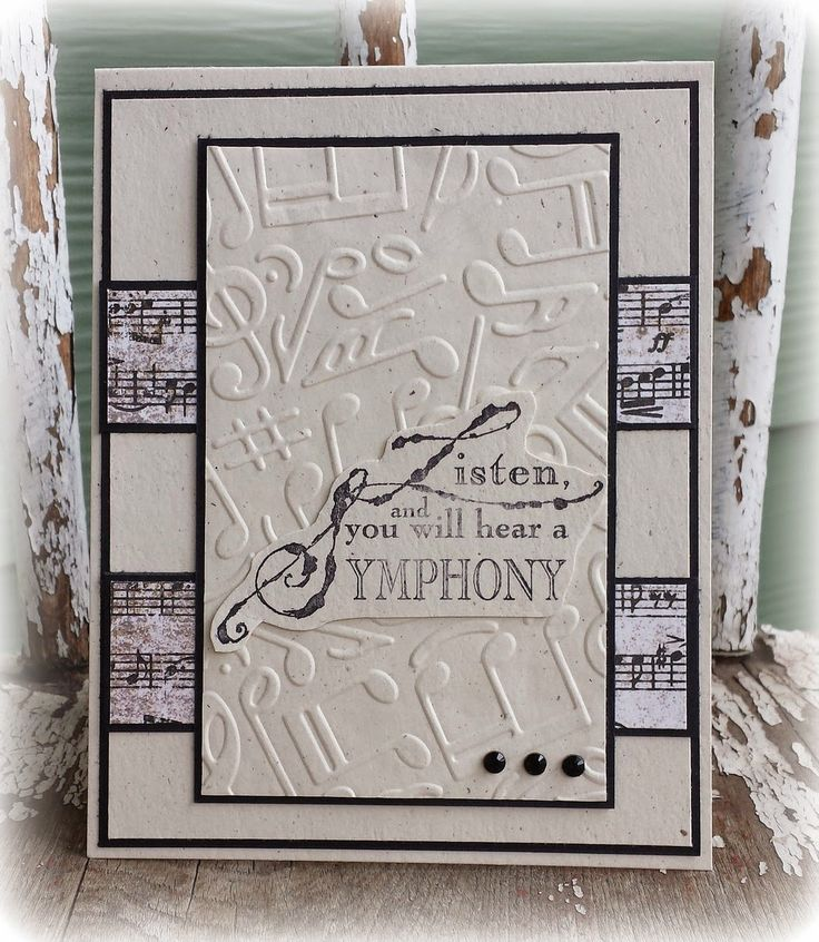 259 best MUSIC CARDS images on Pinterest Musical cards, Musical - fresh invitation card ulop