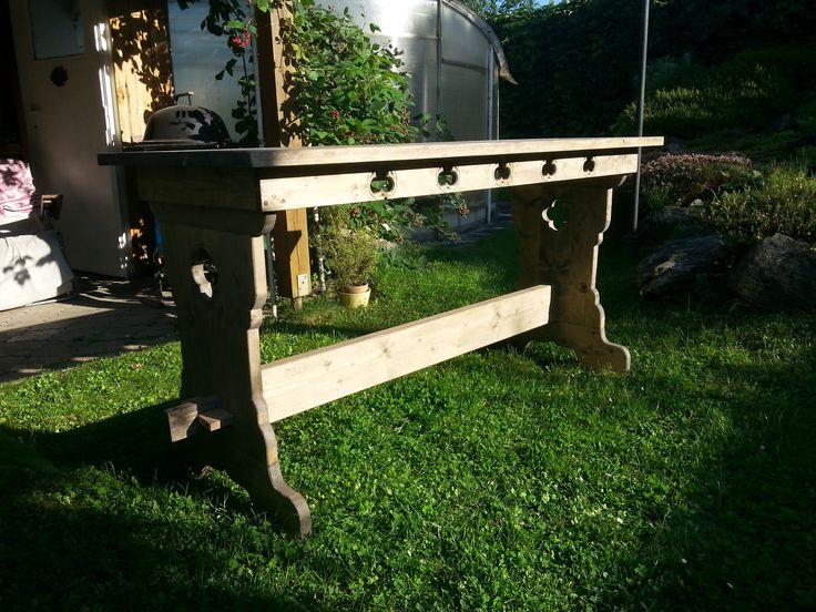 Gothic carved table