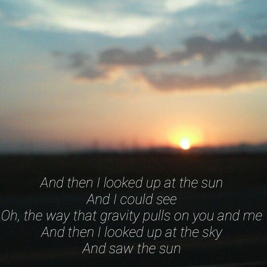 Gravity -Coldplay                                                                                                                                                     More