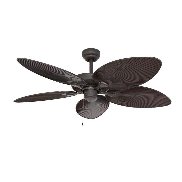Sahara Fans Tortola 52 in. Bronze Outdoor Ceiling Fan-10060 - The Home Depot