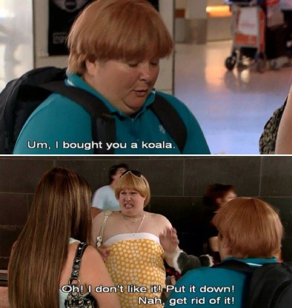 """Not everyone appreciates our animals.   19 Times """"Kath And Kim"""" Summed Up Life As An Australian"""