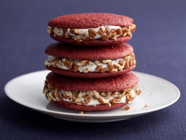 Бисквитное сэндвич-печенье «Красный бархат»