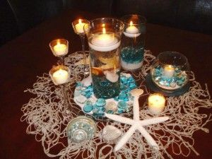 Under The Sea Wedding Theme Decorations | under the sea centerpieces