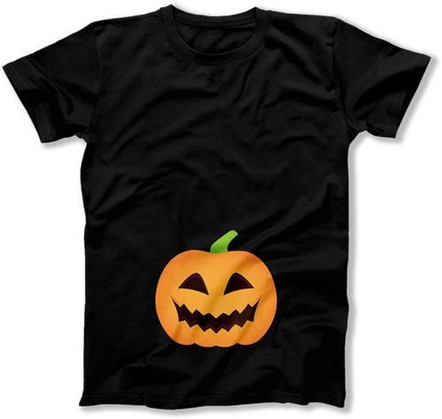 MENS - Scary Pumpkin Baby Bump - TEP-16