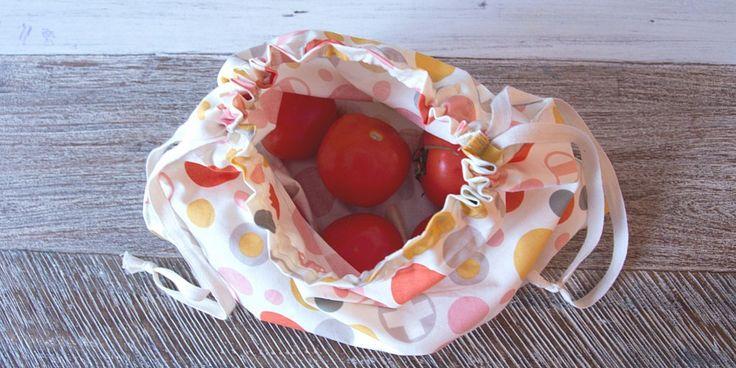 DIY Des sacs à vrac zéro déchet. (http://www.lespimous.com/coudre-vos-sacs-a-vrac/)