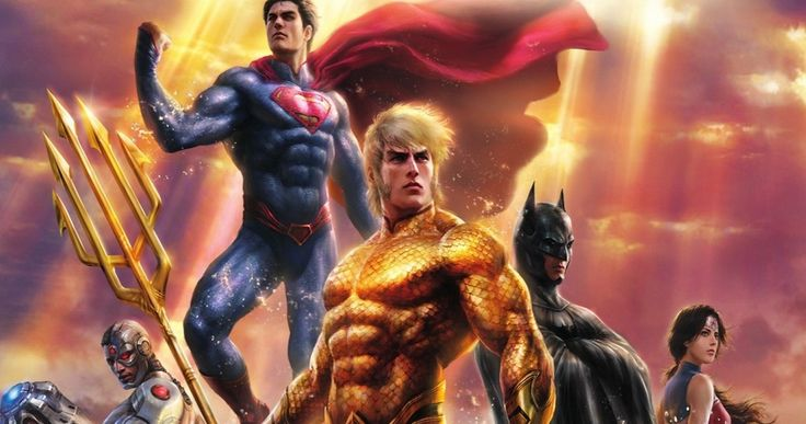 'Justice League: Throne of Atlantis' Releases in January -- 'Justice League' assembles in the all-new animated adventure 'Throne of Atlantis', available on Blu-ray and DVD January 27, 2015. -- http://www.movieweb.com/justice-league-throne-atlantis-release-date-art
