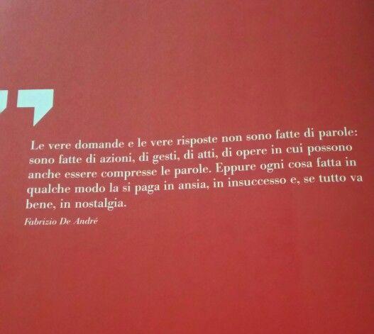 Parole sante. Fabrizio De Andrè