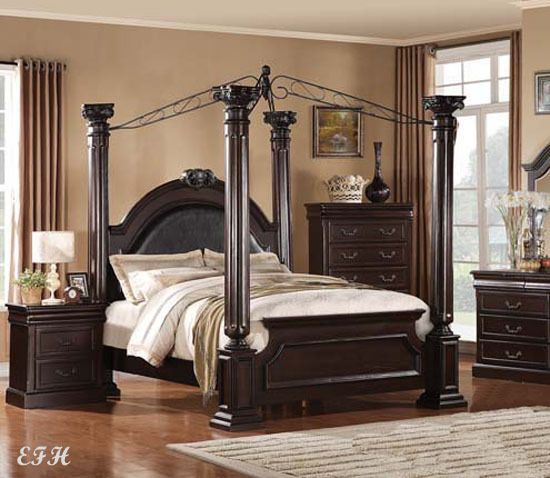 Bedroom Sets With Pillars 25+ best wood canopy bed ideas on pinterest | canopy for bed