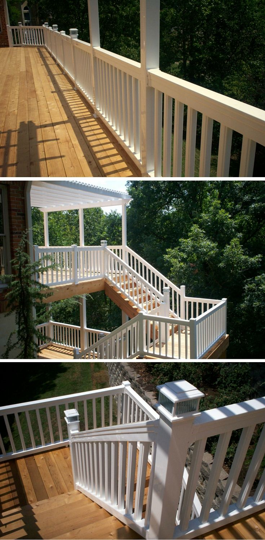 1000  images about deck railing and porch railing design ideas on pinterest