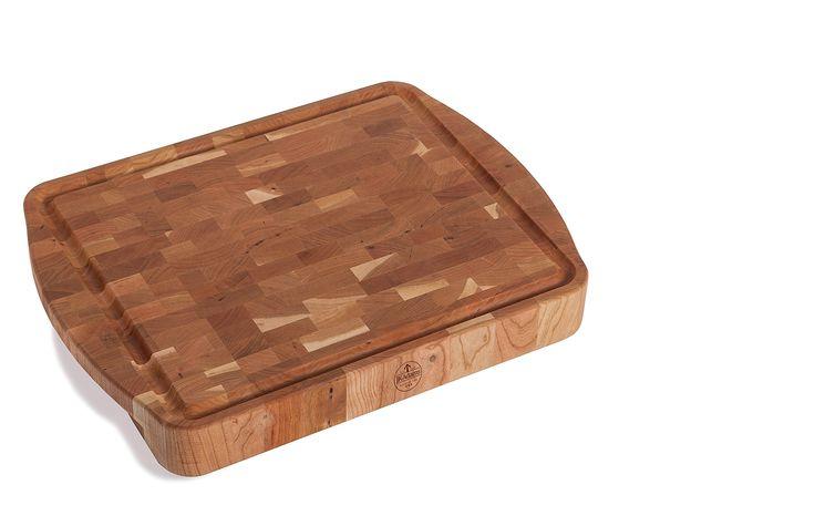 "J.K. Adams Morgan End Grain Carving Board, 20"" x 15"" x 21/2"", Cherry"