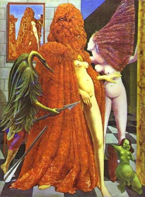 マックス・エルンスト『花嫁の衣装』(1940) Max Ernst - La Toilette de la mariée  #シュールレアリスム