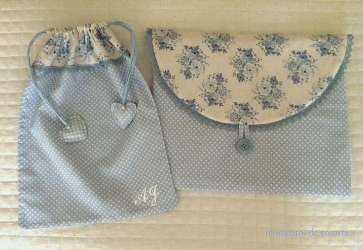 Momentos de Costura: Bolsas de tela