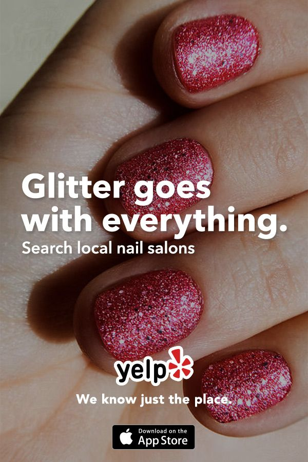 Whether you are looking for nail ideas or your next salon, Yelp has tons of great suggestions that are reviewed by millions of users. Get the App and start searching.