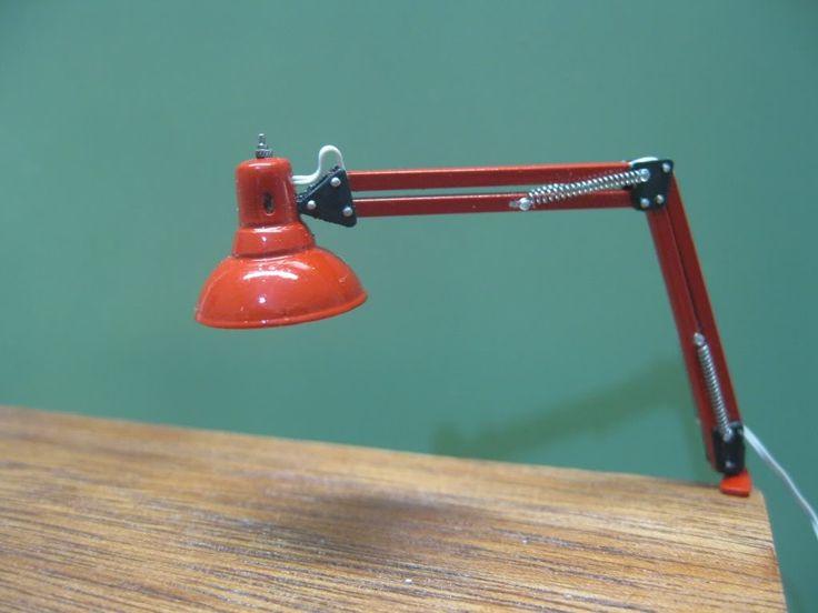 Miniature lighting that works miniatyr lampor mm for Garage mini 77