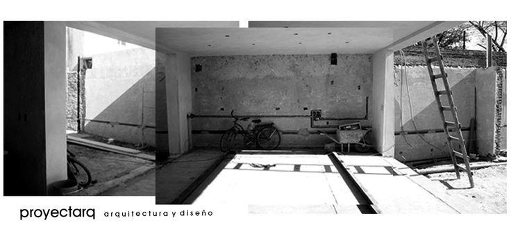 Cocina en obra / by proyectarq #arquitectura / Rosario / Argentina