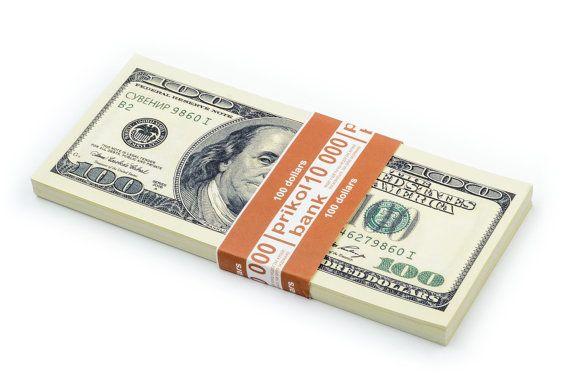PROP MONEY, (80)New 100 dollar bill, Fake money For Movies, Pranks, Play money for kids