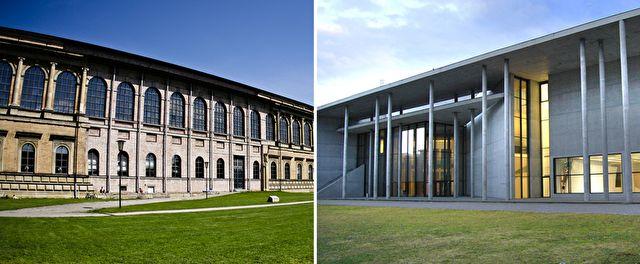 Die Alte und Neue Pinakothek sowie die Pinakothek der Moderne in der Münchner Maxvorstadt gehören zu den renommiertesten Kunstsammlungen weltweit.