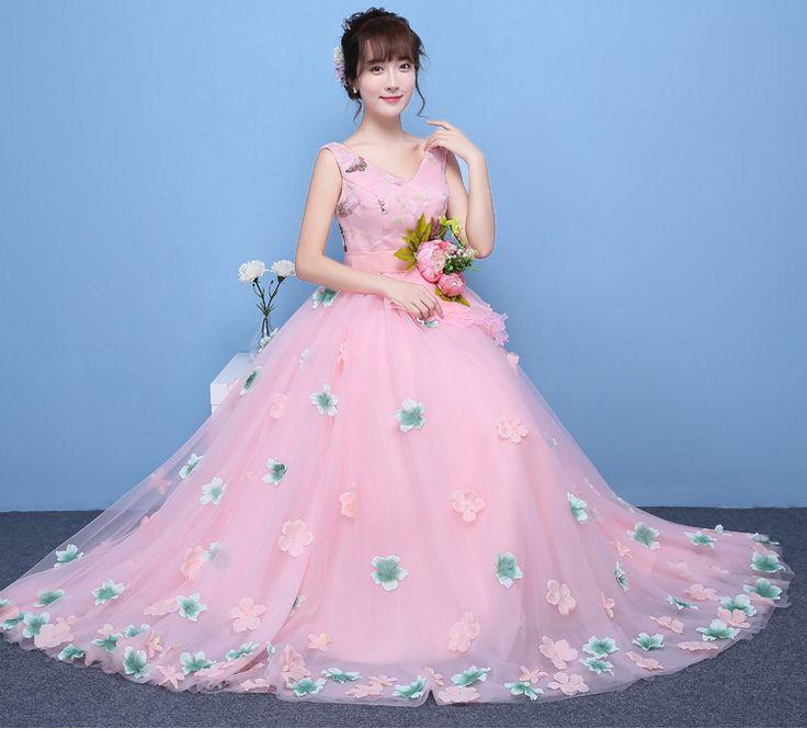 100% реальный свет розовые цветы талии лепестки все бальное платье stuido/фея принцесса мяч средневековом платье/викторианской belle бал купить на AliExpress